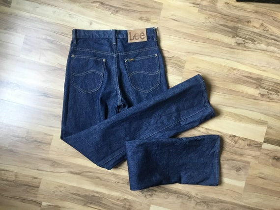 Vintage 70s 80s Lee Riders cotton denim jeans 28 x