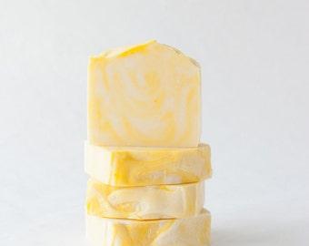 Lemon Poppyseed All Natural Handcrafted Bar Soap