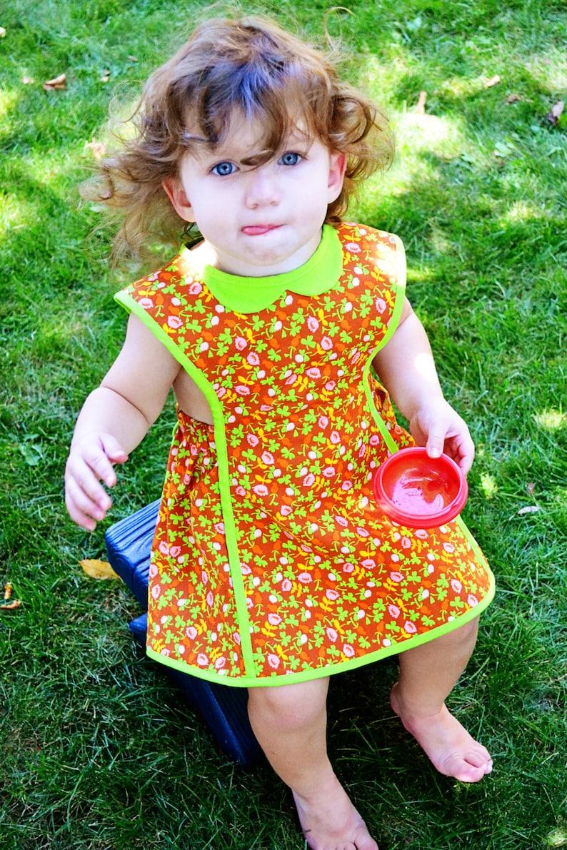 9036396b7e2 Robe de fille de Pâques   robe chasuble fille   enfant en bas