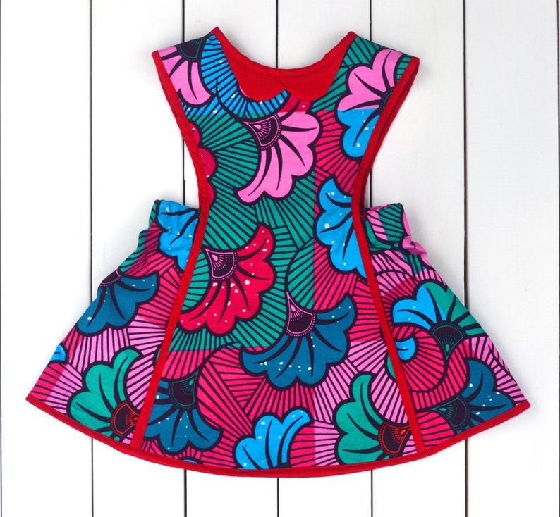 3c214fe9472 Ankara robe   robe chasuble enfant en bas âge   robe chasuble