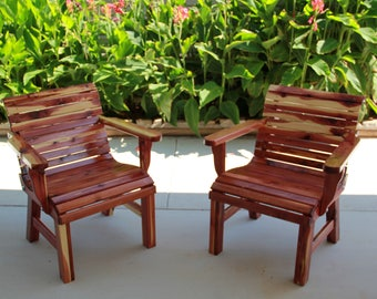 patio chairs etsy rh etsy com images of wooden patio chairs Patio Furniture