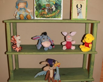 Kids Bookshelf Eco Friendly Non Toxic Room Playroom Furniture