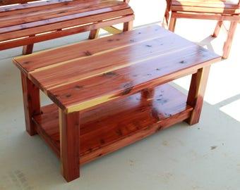 coffee table, living room accessories, table, cedar table
