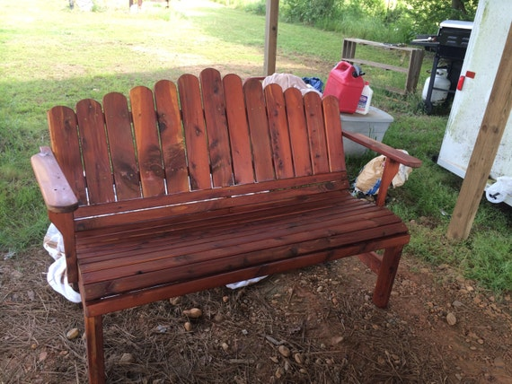 Terrific Bench Garden Bench Cedar Bench Cedar Garden Bench Porch Bench Patio Bench Outdoor Furniture Patio Furniture Anniversary T Bralicious Painted Fabric Chair Ideas Braliciousco
