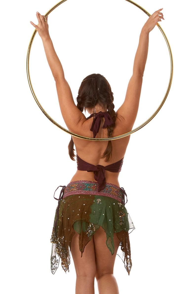 Festival Pixie Sequin Bikini and Skirt Set