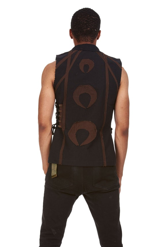 Mens Hard Work Pays Off V438 Sleeveless Vest Hoodie