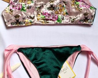 Queen Bee, baby costume in velour
