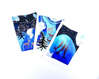Hidden Ancestors Cards - Set of 3 - READY TO SHIP
