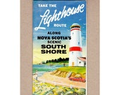 Items similar to Along Nova Scotia's Scenic South Shore Brochure