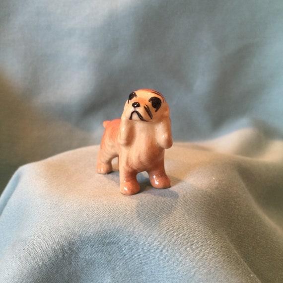 Cocker Spaniel Pup Begging Miniature Dog Figurine Made in USA by Hagen-Renaker