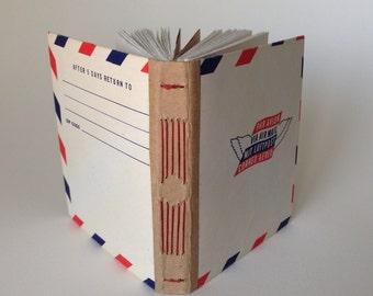 Pocket Vintage Envelope Travel Journal