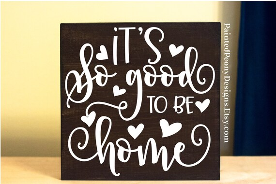 rv decor good to be home wood sign saying new house gift etsy rh etsy com