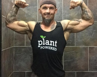 "Unisex ""Plant Powered"" Tank Top"
