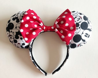 Faces of Mickey Mouse Ears