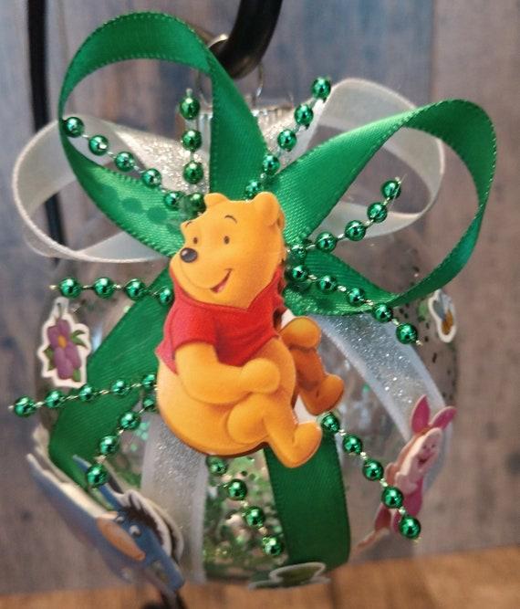 Winnie the Pooh Christmas Ornament Disney Eeyore Piglet | Etsy