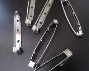 LOT 5 pcs Pins Brooch Settings Brooch DIY Findings