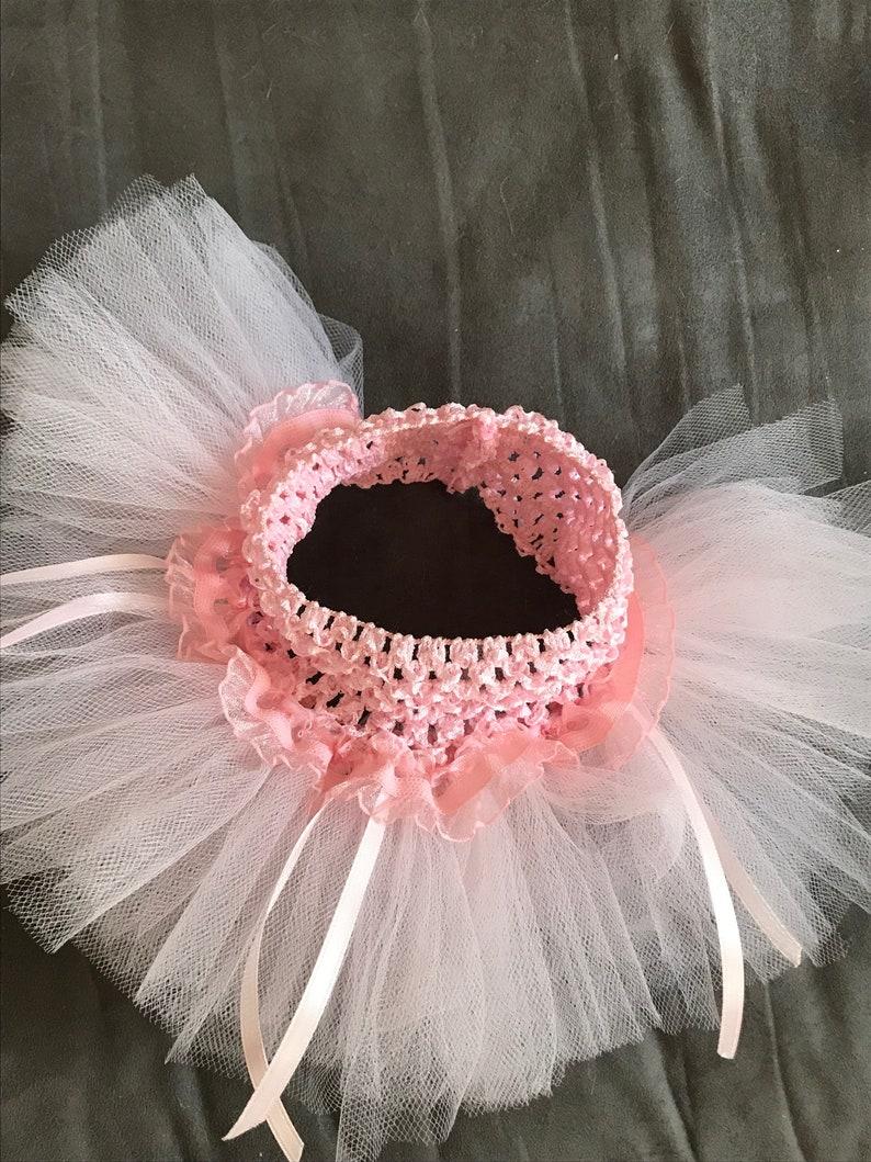 cat tutu skirt cat costume in pale pink. Cat tutu cat ballerina tutu
