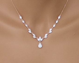 Engagement & Wedding Jewelry & Watches Wedding Set Earring And Necklace Bridesmaids Jewelry Pearls & White Gold