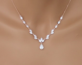 Jewelry & Watches Wedding Set Earring And Necklace Bridesmaids Jewelry Pearls & White Gold Bridal & Wedding Party Jewelry