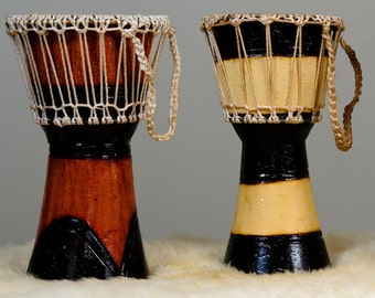 Handcrafted Ugandan Drum - Support OneMama's Nonprofit Birthing Clinic