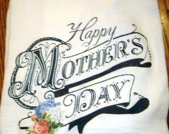 Flour Sack Kitchen Towel Mothers Day
