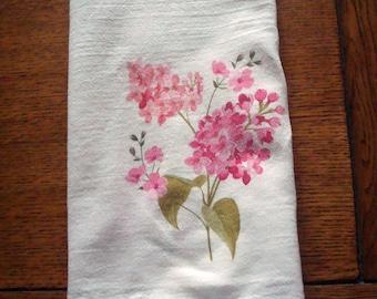Lilac Flour Sack Kitchen Towel