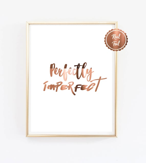 Copper print // Feather // Foil Poster // The best time // copper wall art Art