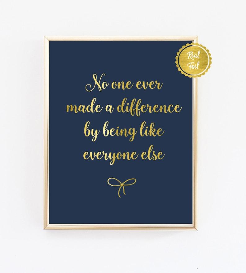Citaten Weergeven Word : Goud en marine afdrukken quote poster inspirational quotes etsy