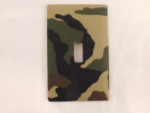 Camo  Switchplate//outlet covers