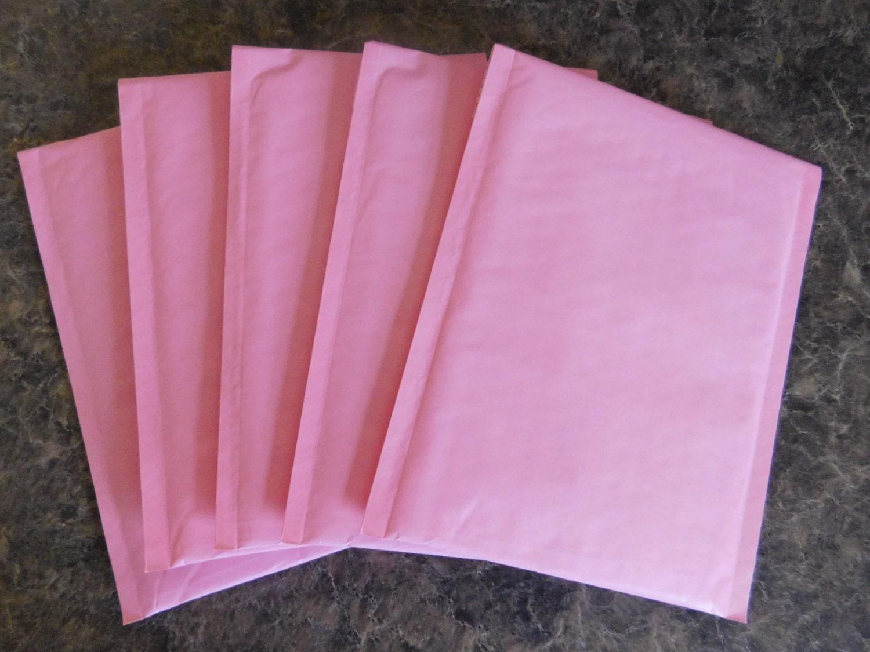 100 Pastel Pink 6x10 Kraft Bubble Mailer Self Seal Adhesive | Etsy