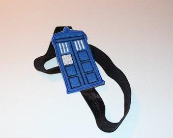 Doctor Who Tardis Stretchy Headband