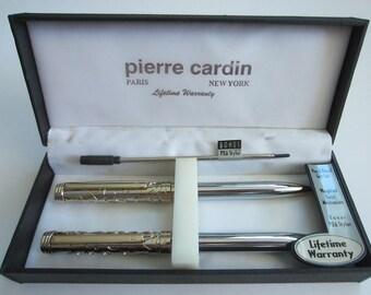 Pierre Cardin Set Lifetime set of Roller Pen /& Ball Pen 100/% Brand New Original