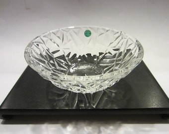 Tiffany & Co Crystal Bowl Made In Germany W Label And Stamp