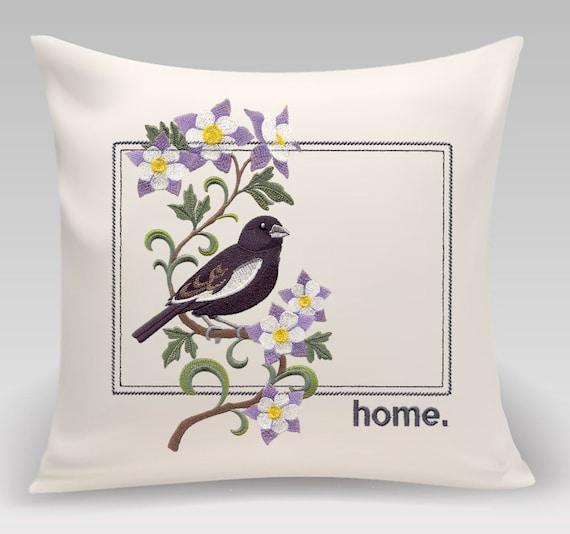 Colorado pillow - Custom Embroidery
