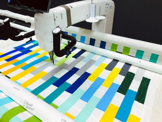 Longarm Quilting Service - Crib/Toddler Size - Edge to edge stitching, Quilters dream batting included!