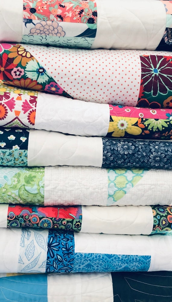 Longarm Quilting Service -Full/Double  Size - Edge to edge stitching, Quilters dream batting included!
