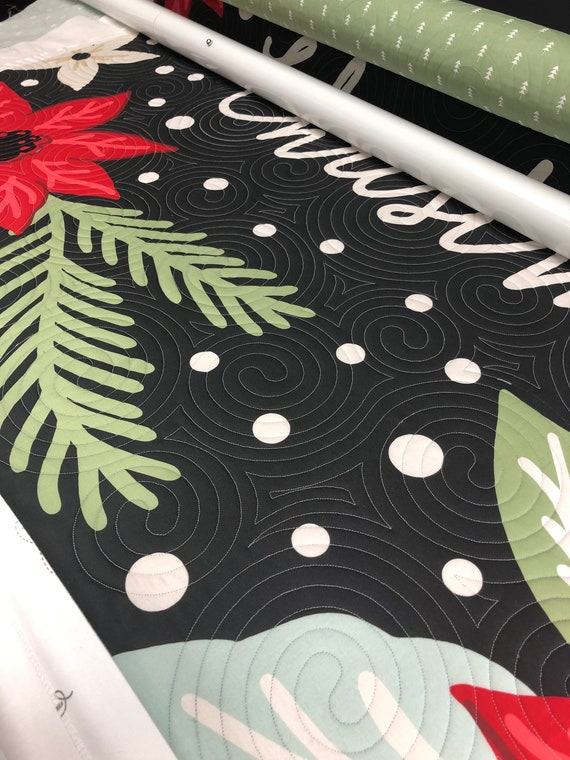 Longarm Quilting Service. Throw/Lap size. Edge to edge stitching, Quilters dream batting included!