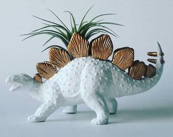 Gold Dinosaur Planter // Mini Planter / Air Plant