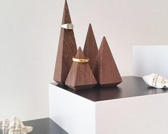 Ringholderset Wenge-Wood  Accessories  Jewelry Display Ring Organiser  Ringorganiser  Christmas Gift