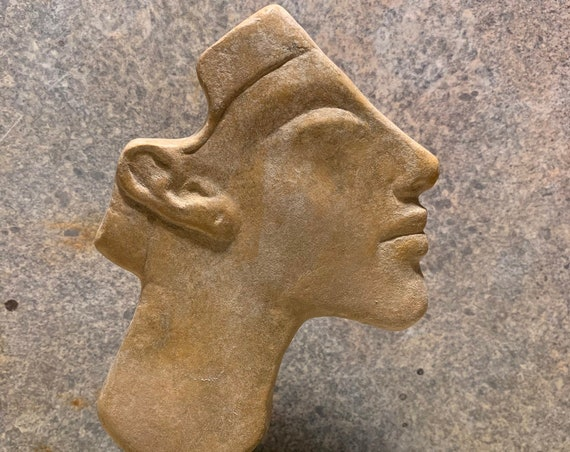 Akhenaten - Egyptian art replica relief inlay from Amarna period - 18th dynasty