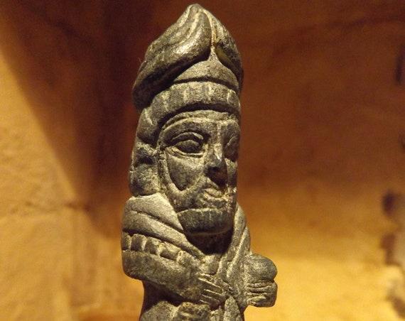 Mesopotamian Art / Statue - Sumeria / Assyria / Babylon - Annunaki /  Apkallu / Genie -Protector deity - pollinator of the tree of life