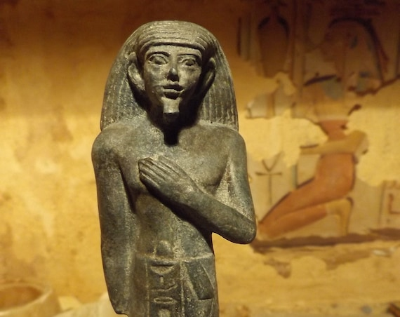 Egyptian Statuestatuette / art / sculpture museum replica - Middle kingdom official