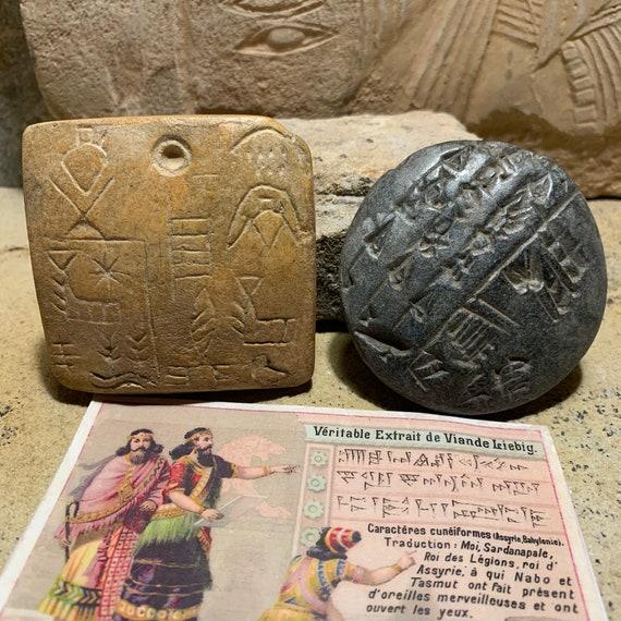 Sumerian / Babylon / Assyrian Cuneiform tablets - Ancient writing Mesopotamia