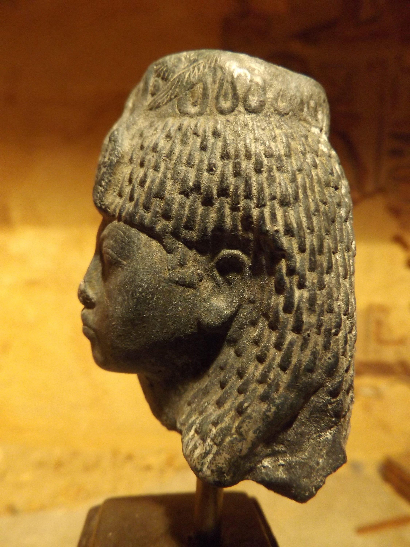Egyptian Statue Sculpture Queen Tiye 18th Dynasty