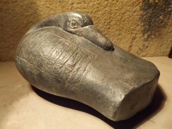 Sumerian / Mesopotamia duck weight with cuneiform writing Shulgi son of Ur Namu