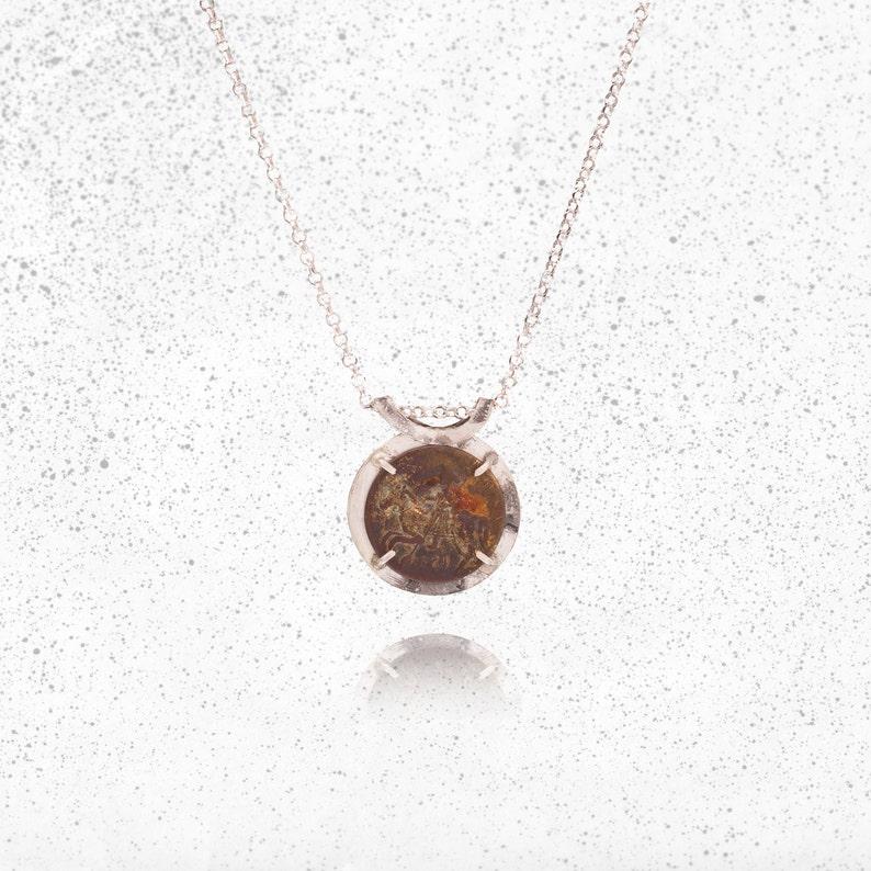 d1527e3144 Don Quixote Necklace Sterling SilverKnight Necklace Antique