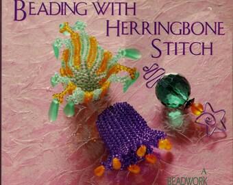 Beadweaving Book Beading With Herringbone Stitch Beadwork How-to Vicki Star Ndebele Stitch Jewelry Making Beaded Jewelry