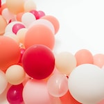 Blush Balloon Garland | Balloon Arch | DIY Balloon Garland | Bridal Shower Decor | Blush Baby Shower | Wedding Balloon | Wedding Reception