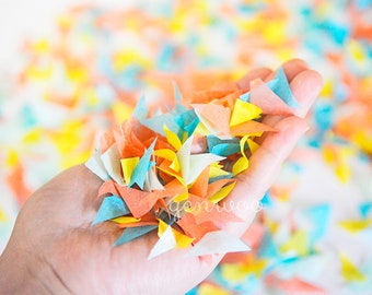 Rubber Duck Party Confetti, Biodegradable Confetti-Tissue Paper Confetti-Wedding Confetti-Birthday Party-Photo Prop Confetti-Baby Shower