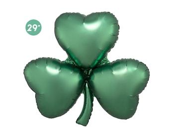 St Patrick's Day Shamrock Foil Balloon 29-inch, Jumbo Balloon, St Patrick's Day Party Decorations, Irish Party Decoration, St Paddy's Day
